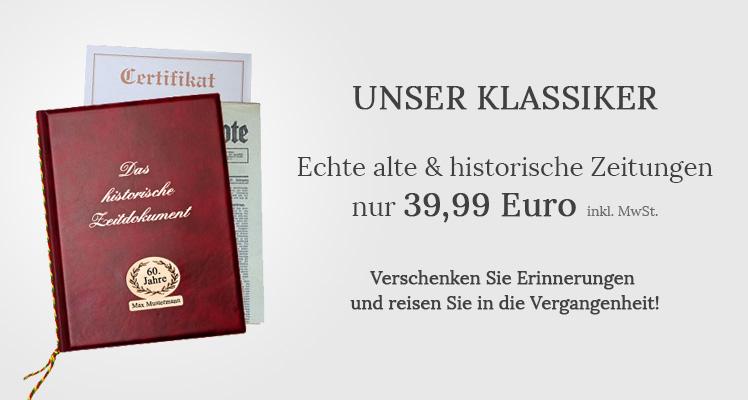 2ec505e81881bf Unser Klassiker - echte alte historische Zeitungen; Was Sie von uns  bekommen!